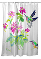 "Hummingbird Shower Curtain ""Ruby Throat""   BDSH1008"