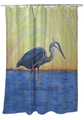 Blue Heron Shower Curtain   BDSH627