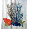 Coral & Shells Shower Curtain | BDSH1070