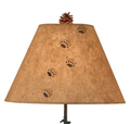 Bear Family and 3 Pines Outland Iron Table Lamp | Coast Lamp | 12-R16D