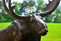 Moose Bronze Statue | Metropolitan Galleries | SRB10063