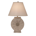 Cottage Sisal Round Table Lamp w/ Rope Accent | Coast Lamp | 16-B3E