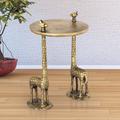 Giraffe Pair End Table   SPI Home