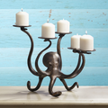 Octopus Pillar Candelabra | SPI Home