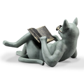 Literary Cat Garden Sculpture | SPI Home