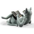 Literary Cat Garden Sculpture | SPI Home