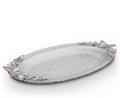 Butterfly Glass Platter   Arthur Court Designs   103086