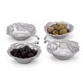 Olive Oil and Sauce Bowl Set of 4 | Arthur Court Designs | 134G12
