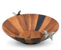 Butterfly Acacia Wood Salad Bowl | Vagabond House | G212BFL