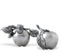 Apple Pewter Salt Pepper Shakers | Vagabond House | R116D