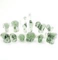 Recycled Glass Elephant Sculpture | Mbare | NG01-B