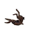 Baxter the Bunny Rabbit Bronze Sculpture | Metropolitan Galleries | SRB41285