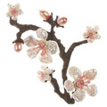 Cherry Blossom Pin | Michael Michaud Jewelry | SS5791BZWP -2