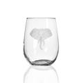 Elephant Stemless Wine Glass Set of 4 | Rolf Glass | 236339