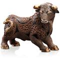 Brave Bull Ceramic Figurine