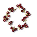 Cranberry Bracelet | Michael Michaud Jewelry | SS7105bzcr