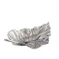 Elephant Ear Leaf Silver Plated Fruit Bowl Centerpiece | U-35 | D'Argenta