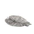 Elephant Ear Leaf II Silver Plated Fruit Bowl Centerpiece | U-34 | D'Argenta