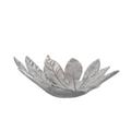 Fatsia Japonica Leaf Silver Plated Fruit Bowl Centerpiece   U-37   D'Argenta