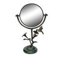Hummingbird and Flower Vanity Mirror   41038   SPI Home
