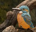 Kingfisher Figurine  | De Rosa Rinconada | F232