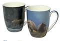 Bear Bone China Mug Set of 2   McIntosh Trading Bear Mug   Robert Bateman Bear Mug Set