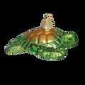 Green Sea Turtle Glass Ornament | OWC12167