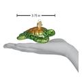 Green Sea Turtle Glass  Ornament