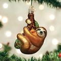 Sloth Glass Ornament | OWC12523