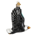 Eagle in Flight Glass Ornament |  OWC16122