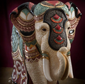 Royal Elephant Ceramic Figurine | De Rosa | Rinconada | DER473