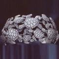 Sea Turtle Sterling Silver Cuff Bracelet | Kabana Jewelry | Kbr314