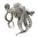 Octopus Sterling Silver Bracelet | Kabana Jewelry | Kbr315 -2