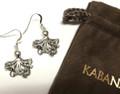 Octopus Sterling Silver Wire Earrings | Kabana Jewelry | Ke506 -2