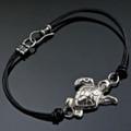 Loggerhead Sea Turtle Sterling Silver Bracelet | Anisa Stewart Jewelry | ASJbs1014-L -2