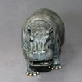 Hippopotamus Bronze Sculpture | Barry Stein | BBSHIP1-H