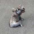 Hippo Baby Bronze Sculpture | Barry Stein | BBSHIPPOBABY -3