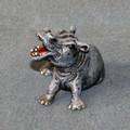 Hippo Baby Bronze Sculpture