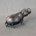 Hippo Bronze Sculpture | Barry Stein | BBSHIPPOSMALL -3