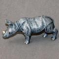 Rhino Baby Bronze Sculpture | Barry Stein | BBSRHINOBABY