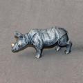 Rhino Baby Bronze Sculpture | Barry Stein | BBSRHINOBABY -2