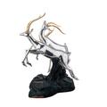 Gazelle Trio Silver Plated Sculpture | 6018 | D'Argenta