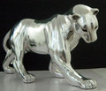 Silver Plated Panther Sculpture | 8037 | D'Argenta -2