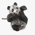 Silver Panda Bear Sculpture | A39 | D'Argenta -2