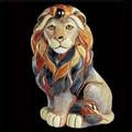 Lion Sitting Ceramic Figurine | De Rosa | Rinconada | DER1008 -2