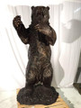 Grizzly Bear Life Size Bronze Outdoor Statue | Metropolitan Galleries | MGISRB10096 -3