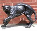 Panther Fighting Pair Bronze Outdoor Statues | Metropolitan Galleries | MGISRB30058 -2