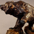 "Bear Bronze Sculpture ""Uninvited"" 