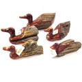 Fence Post Wood Duck Sculpture Small | Rocky Mountain Rustic | RMRsm -4