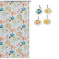 Rainbow Fish Shower Curtain and Hooks Set | Creative Bath | CBS107S-RBF83 -2